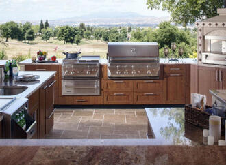 Outdoor Kitchen Ideas for Fall