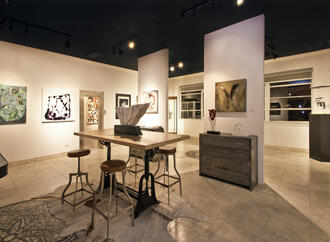 cinq gallery dallas design district