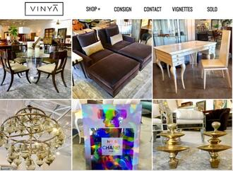VINYĀ (Vin YAY) Is A Designer Specialty Consignment Furniture Store, Owned  And Operated By Interior Designer Debra Owens And Daughter Tristan Owens.
