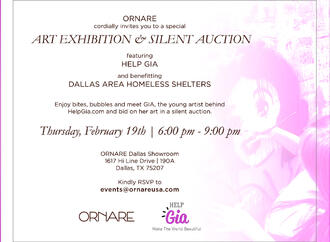 Ornare Help GIA Fundraiser