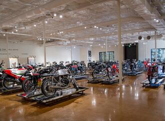 DDD Spotlight: Haas Moto Museum + Sculpture Gallery
