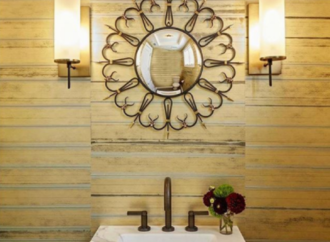 Tips + Tricks for a Striking Powder Room