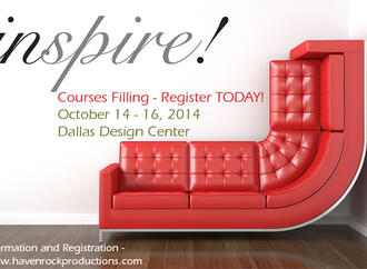 Join Inspire! at the Dallas Design Center October 14-16