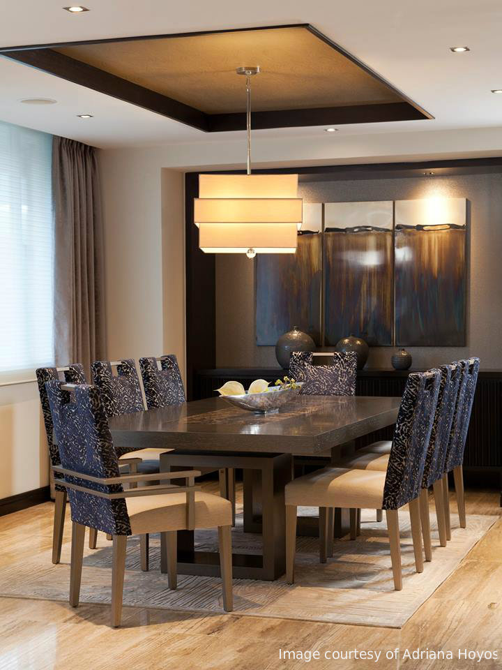 where to find dining room design inspiration | dallas design district