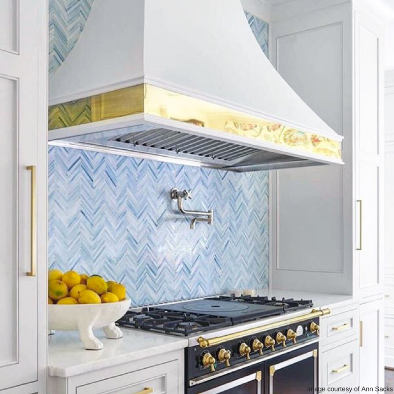 Offset The Neutral Colors In Your Kitchen With Tile Bright Bold And Patterns Imagine A Pop Of Turquoise An All White Or Checkered