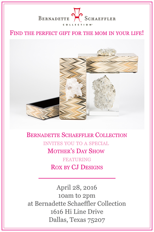 Bernadette Schaeffler Collection Mother's Day Show | Dallas Design ...