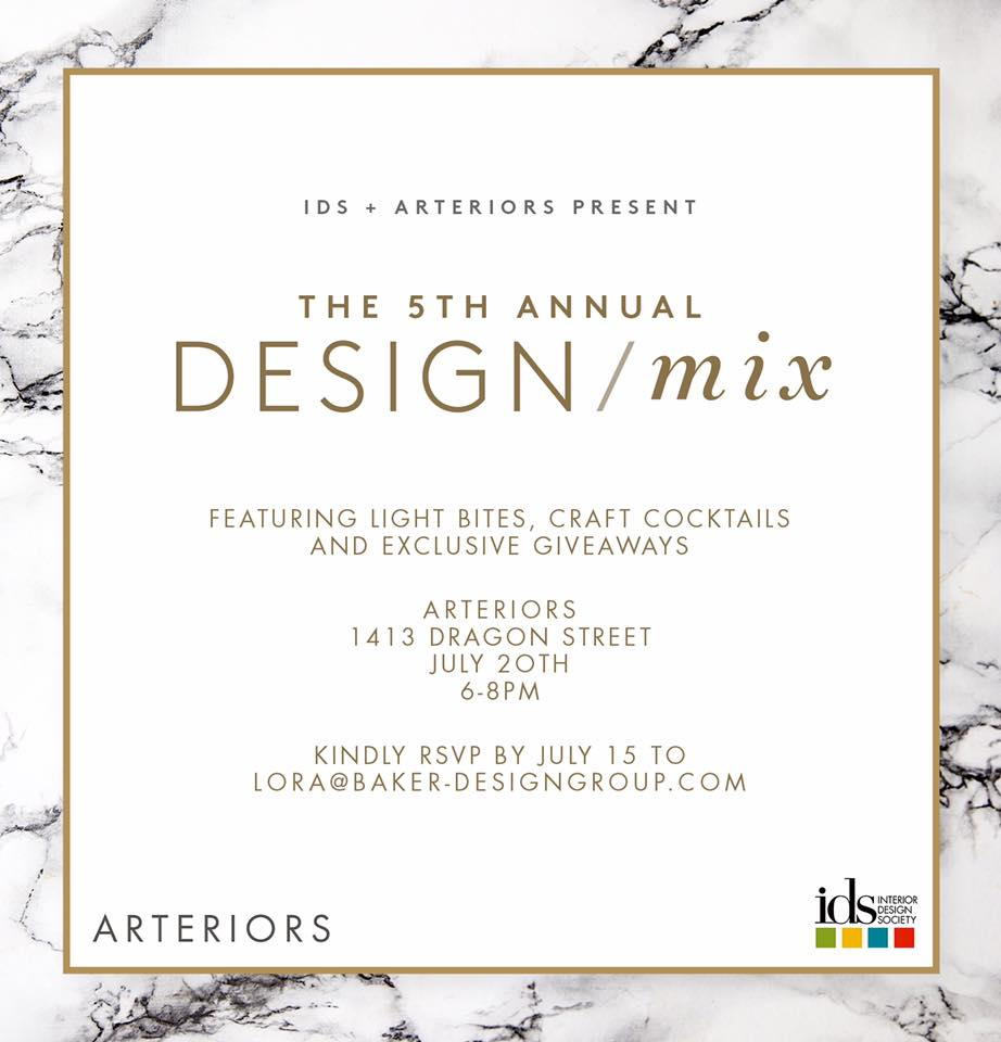 Showroom For Their 5th Annual Design Mix