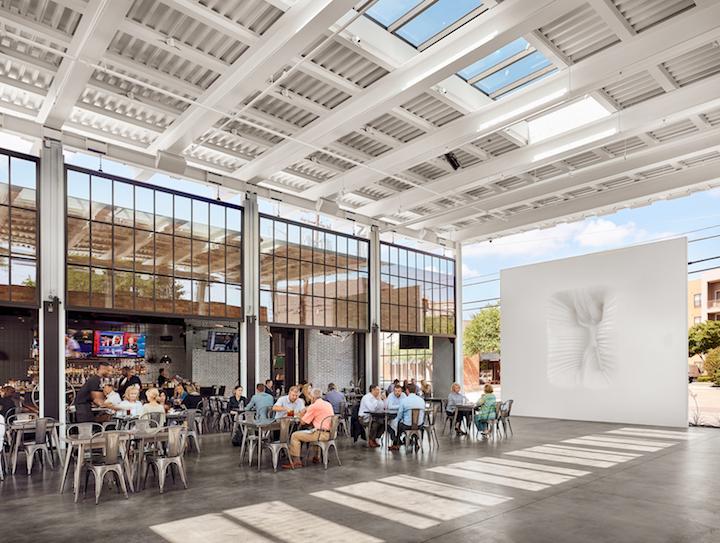 Outdoor Yoga Class In The Design District Dallas Design